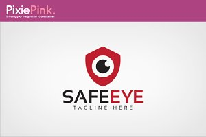 Safe Eye Logo Template