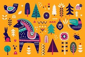 Scandinavian Christmas collection