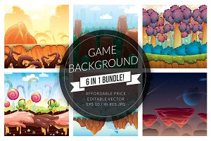6 in 1 Game Background