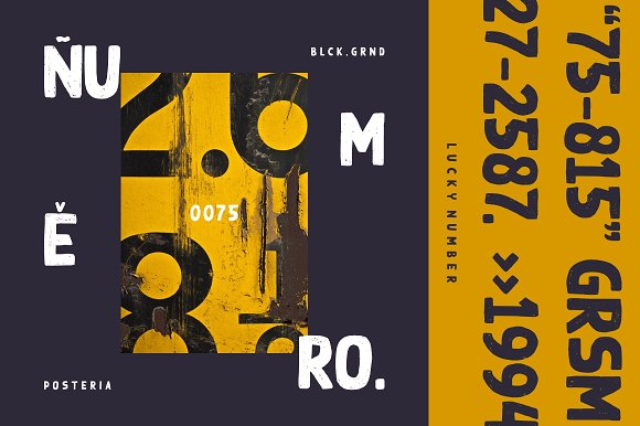 BLACK GROUND in Display Fonts - product preview 1