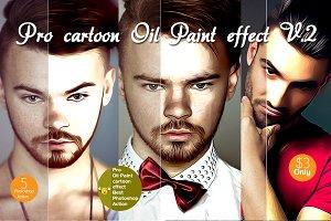 Pro cartoon Oil Paint effect v.2