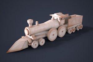 Wooden Train Toy