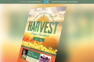 Harvest Prayer Breakfast Flyer