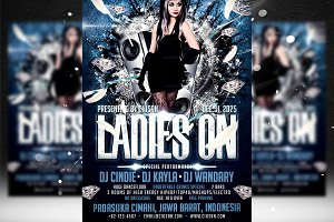 Ladies On Flyer Template