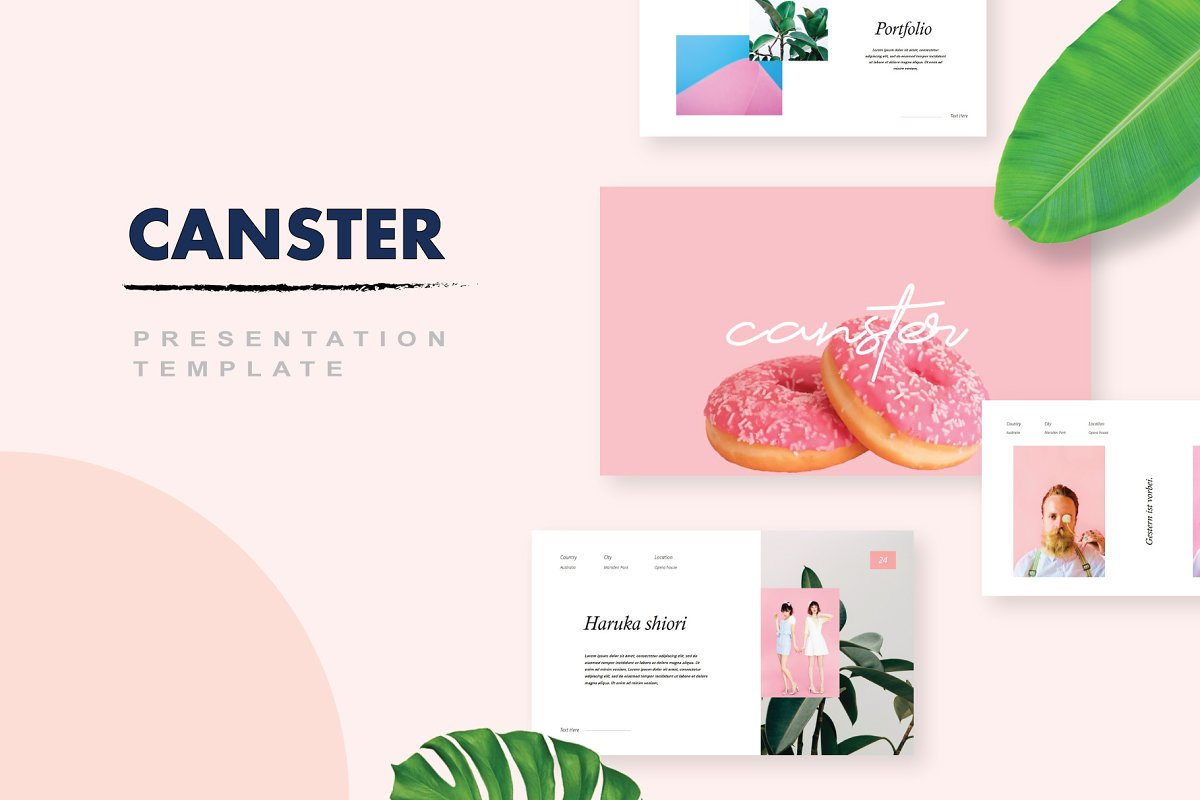 Canster - PowerPoint Template