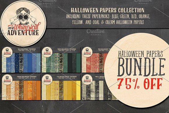 Halloween Papers Bundle