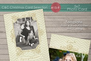 Christmas Photo Card Collection 15-9