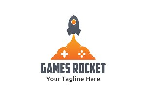 Games Rocket Logo