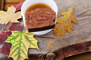 chocolate roll autumn