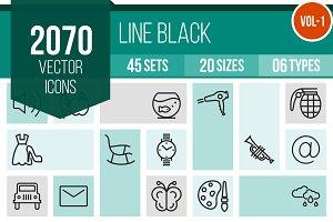 2070 Line Icons (V1)