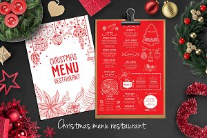 Food menu, restaurant flyer #20