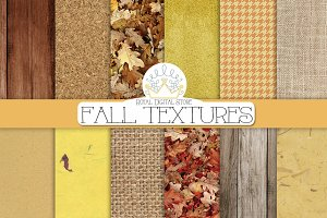 FALL TEXTURES digital paper