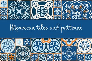 Morrocan tiles and patterns