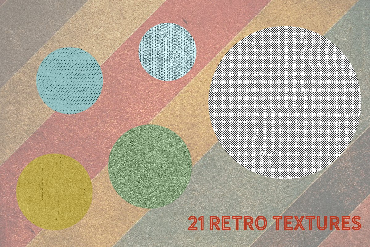 Retro Christmas EFFECTS & BRUSHES PS in Add-Ons - product preview 9