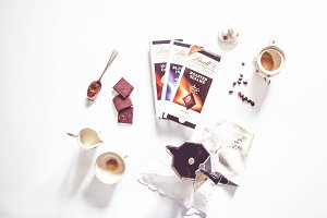 Coffee and chocolate bars