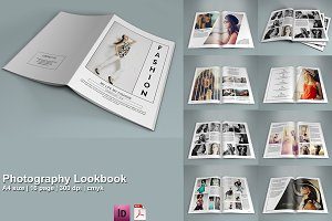 InDesign: Photography Lookbook- V208