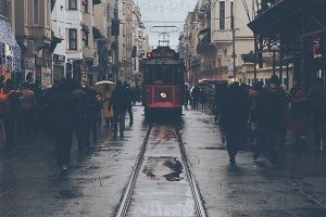 Tramway of istanbul