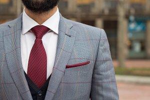 Gentleman in suit