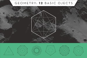 Geometry: 12 Basic Objects