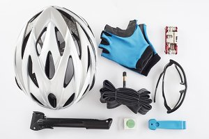 Items for a safe cycling