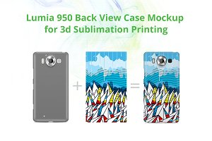 Lumia 950 3d Case Design Mock-up