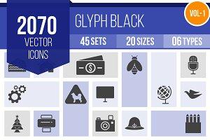 2070 Glyph Icons (V1)