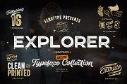 Explorer 21 Fonts Collection