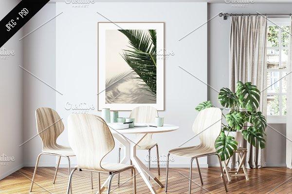 Interior mockup & frame mockup