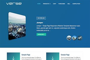 Verse WordPress Digital Store Theme