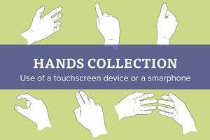 50% OFF - Hands collection