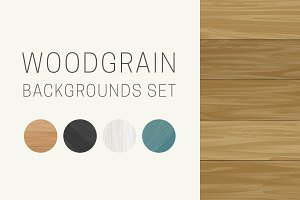 Woodgrain backgrounds