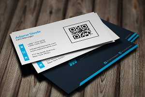 Simple Business Cards - Light & Dark