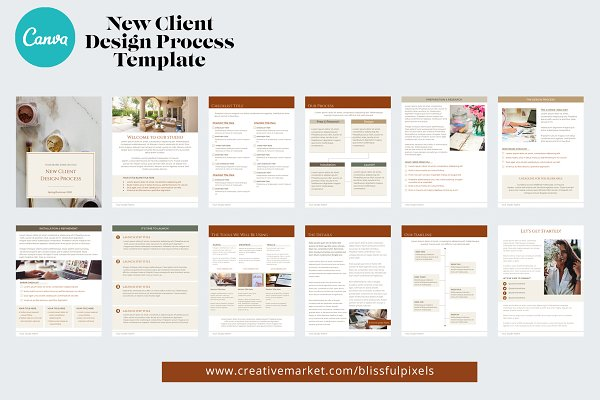 New Client Design Process Template