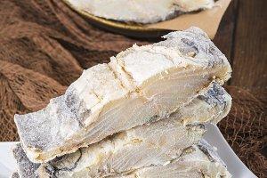 Salted cod loins