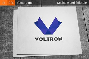 Letter V Company Logo