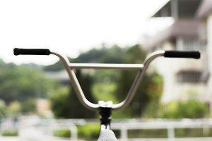 Handlebars of a Freestyle Bike.jpg