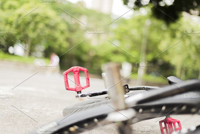 Part of a Freestyle Bike on the Floor.jpg - Sports