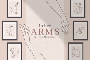 In Her Arms | Feminine Hands & Arms