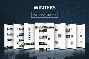 Winters - WordPress Blog Theme