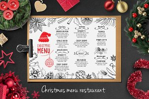 Food menu, restaurant flyer #21
