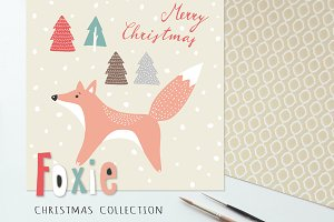 The Foxie Christmas collection