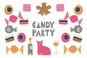 Halloween Candy Party