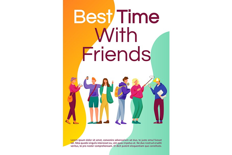 Best time with friends brochure