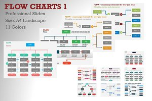 Flow Charts 1 PowerPoint Template