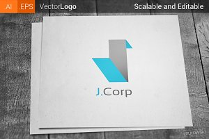 Letter J Company Logo
