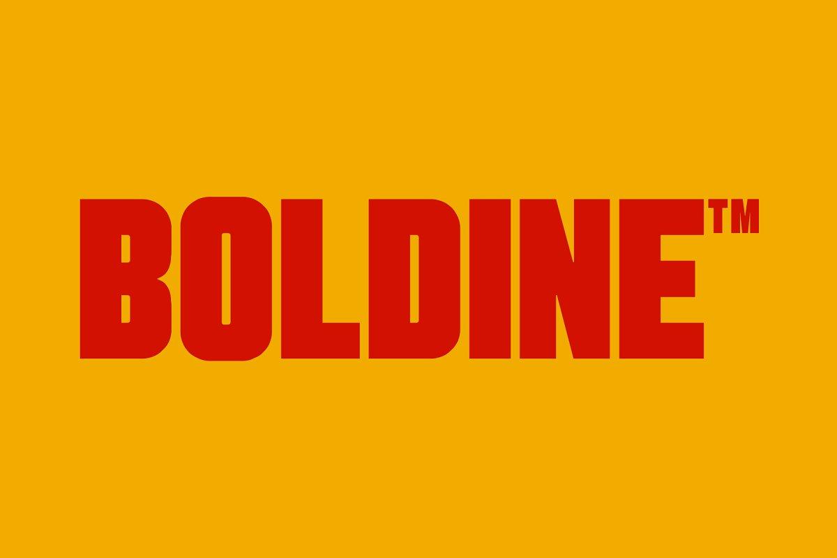 Boldine: urban & bold sans