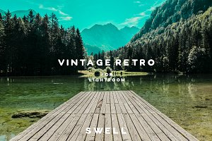 Vintage Retro Lightroom Presets