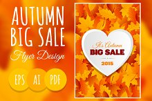 Big Autumn Sale Flyer Design