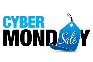 Cyber Monday Sale with Price Tag