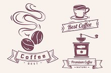Coffee badges